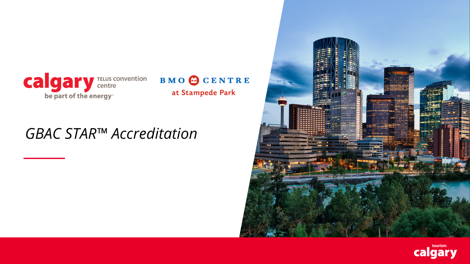 Calgary's Largest Convention Venues Receive GBAC STAR™ Accreditation
